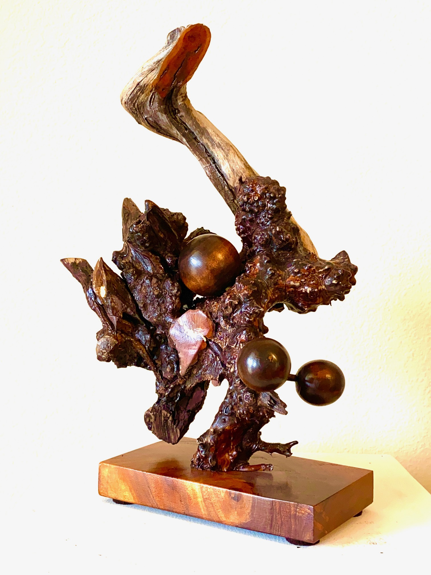 Enchanted Forest-sculpture copyright Scott Bruckner